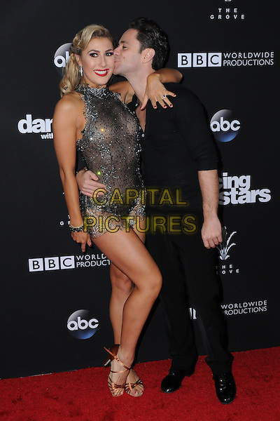 22 November 2016 - Los Angeles, California. Emma Slater, Sasha Farber. ABC's &quot;Dancing With The Stars&quot; Season 23 Finale held at The Grove. <br /> CAP/ADM/BT<br /> &copy;BT/ADM/Capital Pictures