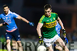 Jack Barry Kerry in action against  Dublin in the National League in Austin Stack park on Saturday night.