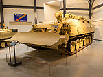 Challenger Armoured Repair and Recovery vehicle (CRARRV), REME museum, MOD Lyneham, Wiltshire, England, UK