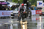Alberto Contador (ESP) Trek-Segafredo in action during Stage 1, a 14km individual time trial around Dusseldorf, of the 104th edition of the Tour de France 2017, Dusseldorf, Germany. 1st July 2017.<br /> Picture: Eoin Clarke | Cyclefile<br /> <br /> <br /> All photos usage must carry mandatory copyright credit (&copy; Cyclefile | Eoin Clarke)