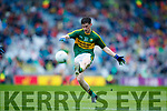 Jack Griffin Kerry in action against  Cavan in the All Ireland Minor Semi Final in Croke Park on Sunday.