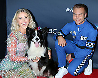 """LOS ANGELES - SEP 10:  Julianne Hough, Lukas and Falco at the """"America's Got Talent"""" Season 14 Live Show Red Carpet at the Dolby Theater on September 10, 2019 in Los Angeles, CA"""