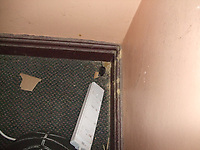 Pictured: Debris, mouse droppings and a mouse found by officials at the Pizza Hut take away restaurant in St Helen's Road, Swansea, Wales, UK. <br /> Re: A Pizza Hut outlet has been issued with an  immediate closure notice for public protection after inspectors found evidence of a mouse infestation in the premises, Swansea Magistrates court has heard.<br /> Environmental health officers found mouse droppings throughout the kitchen area of the property, as well as in the damp cellar where the pizza delivery boxes were stored.<br /> The franchise owners have been fined £8,000.<br /> The court heard inspectors carried out a routine inspection of the pizza delivery and takeaway premises on St Helen's Road in Swansea on the13th of March 2018.<br /> Milton Keynes-based Sania PH Ltd, had previously pleaded guilty to six offences under the Food Hygiene Wales Regulations before district judge Neale Thomas.<br /> Charges against the owner of the company, Mubarak Ali, 44 of  Milton Keynes, were dropped.<br /> The court heard Mr Ali's businesses run a total of 18 Pizza Hut franchises - nine in Wales and nine in England.