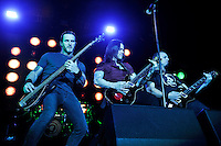 LONDON, ENGLAND - NOVEMBER 24: Brian Marshall, Myles Kennedy and Mark Tremonti of 'Alter Bridge' performing at the O2 Arena on November 24, 2016 in London, England.<br /> CAP/MAR<br /> &copy;MAR/Capital Pictures /MediaPunch ***NORTH AND SOUTH AMERICAS ONLY**