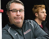 John O'Donnell (Harvard - Manager) - The Harvard University Crimson defeated the visiting Bentley University Falcons 3-0 on Saturday, October 26, 2013, in Harvard's season opener at Bright-Landry Hockey Center in Cambridge, Massachusetts.