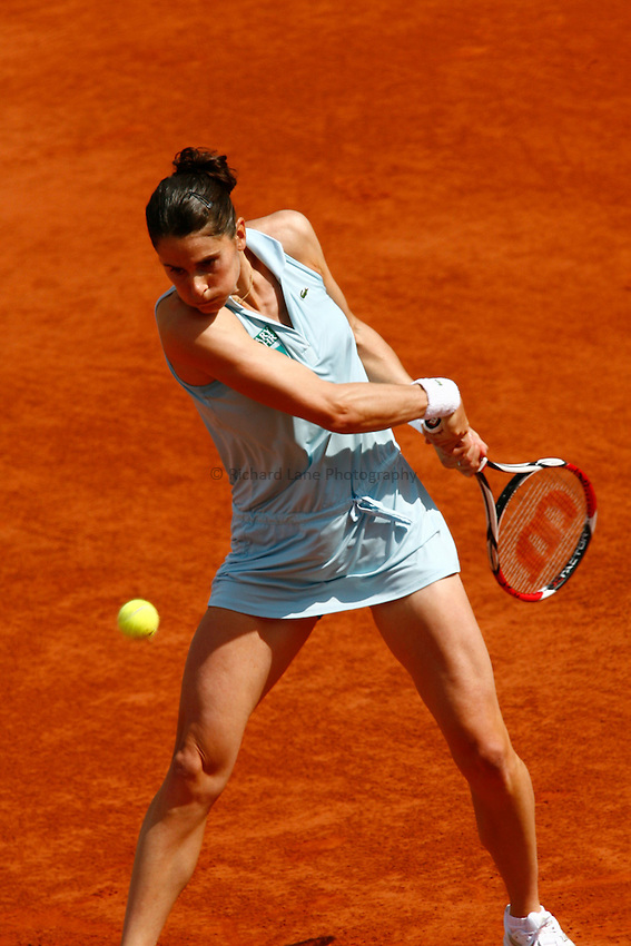 Photo: Iconsport/Richard Lane Photography..French Open, Roland Garros 2007. 31/05/2007..Nathalie Dechy.