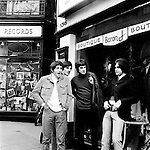 The Kinks 1966 in Carnaby Street Pete Quaife Mick Avory Ray Davies and Dave Davies<br /> &copy; Chris Walter