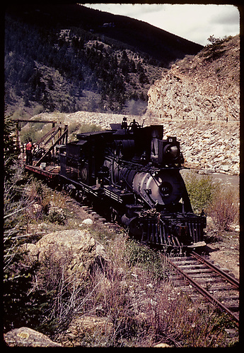 C&amp;S #69 - Clear Creek Canyon - scrapping?<br /> C&amp;S  Clear Creek Canyon, CO