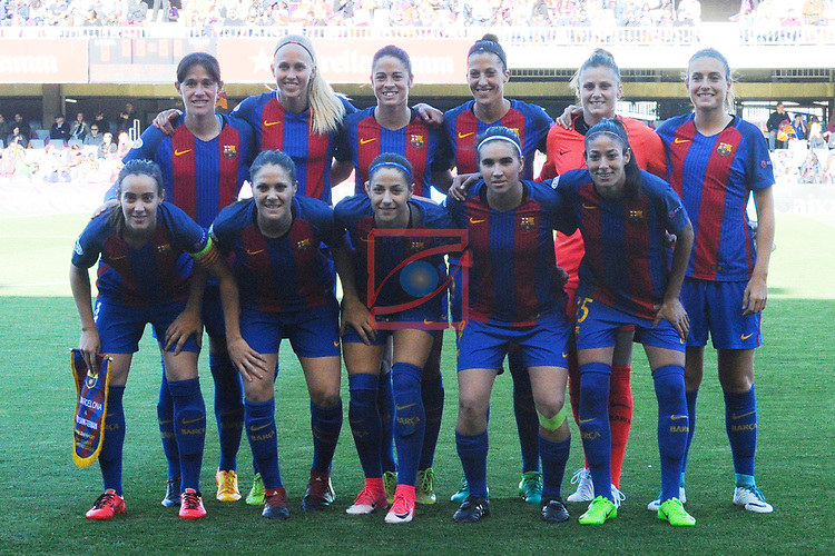 UEFA Women's Champions League 2016/2017.<br /> Semifinals.<br /> FC Barcelona vs Paris Saint Germain: 1-3.
