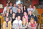 ENGAGEMENT: David Lucid (Ballyheigue) (seated 2nd from left) announced his engagement to Amy Kelliher (cork on Saturday night in Kirby's Brogue Inn, Tralee were family and friends gathered to celebrate the occasion..............................   Copyright Kerry's Eye 2008