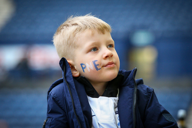 Preston North End fans take their seats before the match<br /> <br /> Photographer Alex Dodd/CameraSport<br /> <br /> The Emirates FA Cup Third Round - Preston North End v Doncaster Rovers - Sunday 6th January 2019 - Deepdale Stadium - Preston<br />  <br /> World Copyright © 2019 CameraSport. All rights reserved. 43 Linden Ave. Countesthorpe. Leicester. England. LE8 5PG - Tel: +44 (0) 116 277 4147 - admin@camerasport.com - www.camerasport.com