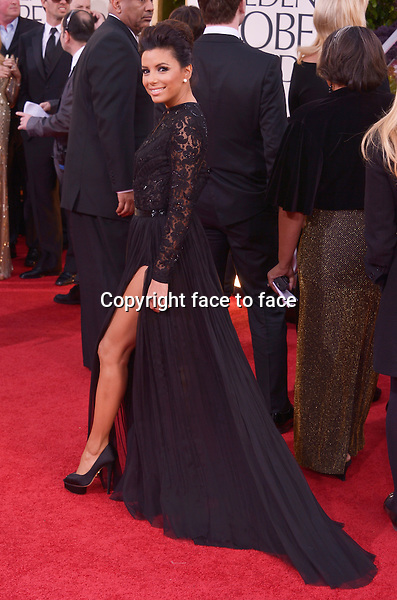 Eva Longoria arriving at the 70th Annual Golden Globe Awards held at The Beverly Hilton Hotel on January 13, 2013 in Beverly Hills, California...credit: face to face