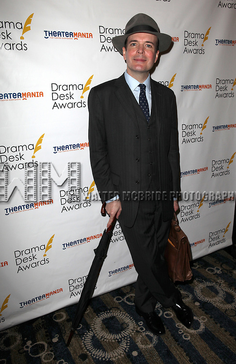 Jefferson Mays.attending the 57th Annual Drama Desk Nominees Reception at Oceana Restaurant in New York City on 5/8/2012. © Walter McBride/WM Photography .