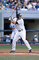 July 15, 2009: Matt Miller of the Colorado Springs Sky Sox at-bat during the 2009 Triple-A All-Star Game at PGE Park in Portland, Oregon.
