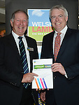 The First Minister of Wales Carwyn Jones with HCC Chairman Dai Davies <br /> <br /> 10 year Anniversary  - HCC - Meat Promotion Wales - Hybu Cig Cymru - Tue 04 June 2013 - Wales Millennium Centre - Cardiff<br /> <br /> &copy; www.ijcphotography.co.uk  and www.ijcsports.co.uk - PLEASE CREDIT IAN COOK