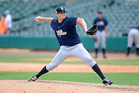Tampa Yankees pitcher Brandon Pinder (51) during a game against the Jupiter Hammerheads on July 18, 2013 at Roger Dean Stadium in Jupiter, Florida.  Jupiter defeated Tampa 6-1.  (Mike Janes/Four Seam Images)