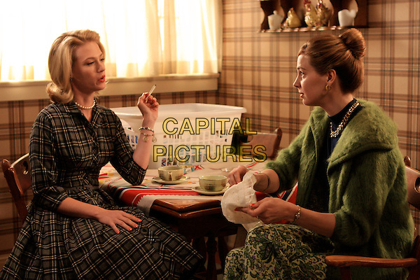 JANUARY JONES, ANNE DUDEK<br /> in Mad Men (Season 2)<br /> *Filmstill - Editorial Use Only*<br /> CAP/FB<br /> Image supplied by Capital Pictures