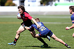 NELSON, NEW ZEALAND - SEPTEMBER 30: Tasman U18 v Canterbury Metro U18 on September 30 2017 in Nelson, New Zealand. (Photo by: Evan Barnes Shuttersport Limited)