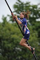 FIERJLEPPEN: JOURE: 18-06-2014, ROC Friese Poort Competitie, Dames Topklasse, Klaske Nauta, ©foto Martin de Jong
