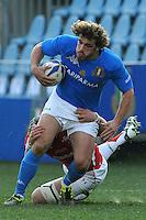Mirco Bergamasco (Italia)<br /> Italia vs Galles<br /> RBS 6 Nations Rugby Championship 2011<br /> Stadio Flaminio;<br /> Roma, 26/02/2011<br /> Photo Antonietta Baldassarre Insidefoto
