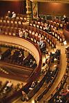 Genève, 8 mai 2020. Premiers concerts donnés par l'Orchestre de la Suisse Romande suite au confinement. Le public est limité à 250 personnes afin de garder une distance de 2m entre chaque spectateur (ou couple de spectateurs). La composition de l'orchestre est aussi réduite afin d'assurer les distances de sécurité. © Niels Ackermann / Lundi13