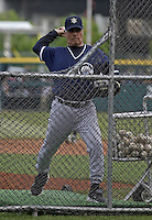 June 4, 2004:  Manager Bucky Dent of the Columbus Clippers, International League (AAA) affiliate of the New York Yankees, during a game at Dunn Tire Park in Buffalo, NY.  Photo by:  Mike Janes/Four Seam Images