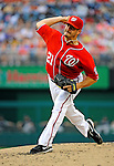 9 July 2011: Washington Nationals pitcher Jason Marquis on the mound against the Colorado Rockies at Nationals Park in Washington, District of Columbia. The Nationals were edged out by the Rockies 2-1, dropping the second game of their 3-game series. Mandatory Credit: Ed Wolfstein Photo