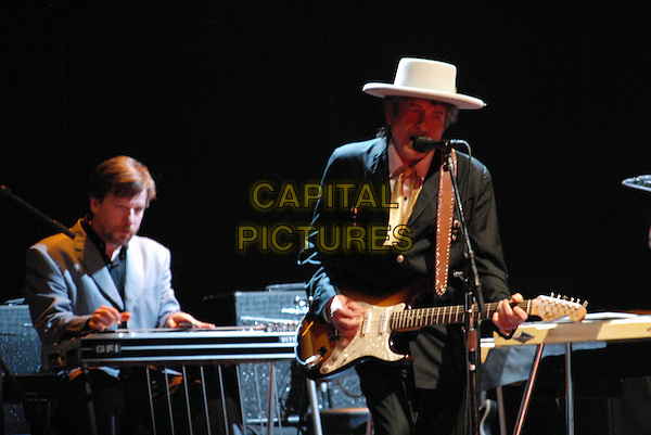 16 September 2007- Austin, Texas -  Musician Bob Dylan performs live at the Austin City Limits Music Festival that took place at Zilker Park. Photo Credit: Moose/AdMedia