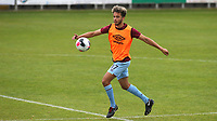 Mace Goodridge of Burnley U23's warms up ahead of the second half during Charlton Athletic Under-23 vs Burnley Under-23, Professional Development League Football at Princes Park on 9th September 2019
