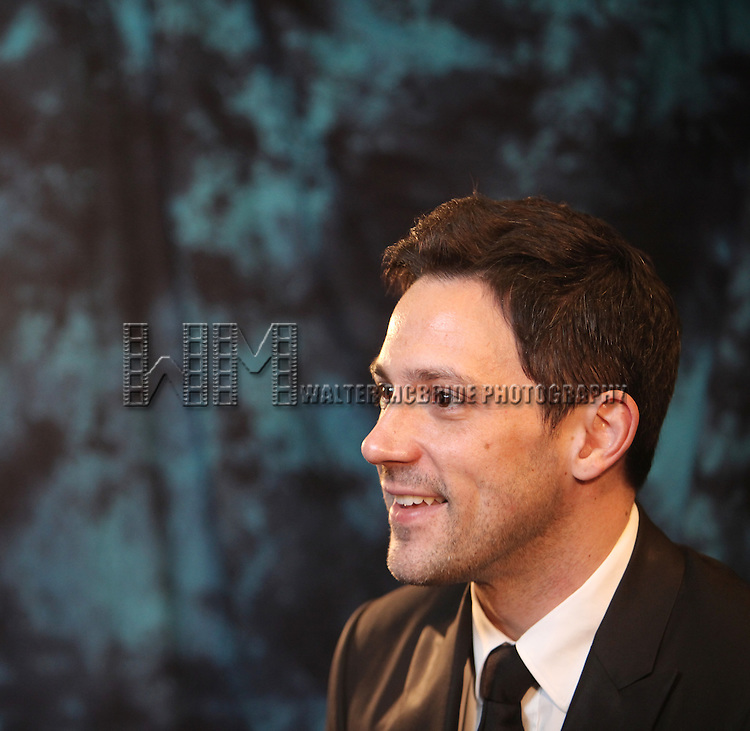 Steve Kazee.Behind the Scene at the 2012 Tony Award-Meet The Nominees Press Reception at Millennium Broadway Hotel on May 2, 2012 in New York City.