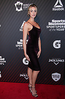 NEW YORK, NY - DECEMBER 5:  Allie Ayers  at the 2017 Sports Illustrated Sportsperson Of The Year Awards at Barclays Center on December 5, 2017 in New York City. Credit: Diego Corredor/MediaPunch /NortePhoto.com NORTEPHOTOMEXICO