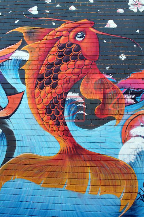 Street Art-Graffittis.<br /> Sabadell - Escola Industrial.
