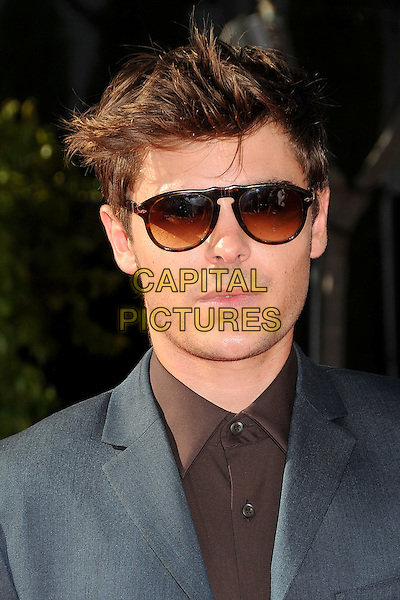 ZAC EFRON.18th Annual ESPY Awards - Arrivals held at Nokia Theatre L.A. Live, Los Angeles, California, USA..July 14th, 2010.espys headshot portrait grey gray brown sunglasses shades .CAP/ADM/BP.©Byron Purvis/AdMedia/Capital Pictures.