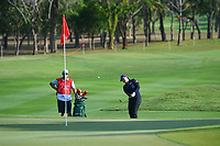 PATTAYA, THAILAND - FEBRUARY 22: Angel Yin of USA 3rd shot on the 1st fairway during the second round of the Honda LPGA Thailand 2019 at Siam Country Club Pattaya (Old Course), Pattaya, Thailand on February 22, 2019.<br /> .<br /> .<br /> .<br /> (Photo by: Naratip Golf Srisupab/SEALs Sports Images)<br /> .<br /> Any image use must include a mandatory credit line adjacent to the content which should read: Naratip Golf Srisupab/SEALs Sports Images