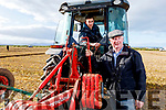Father and son, Tony and Thomas O'Carroll from Ballyduff at the Ardfert Ploughing on Sunday.