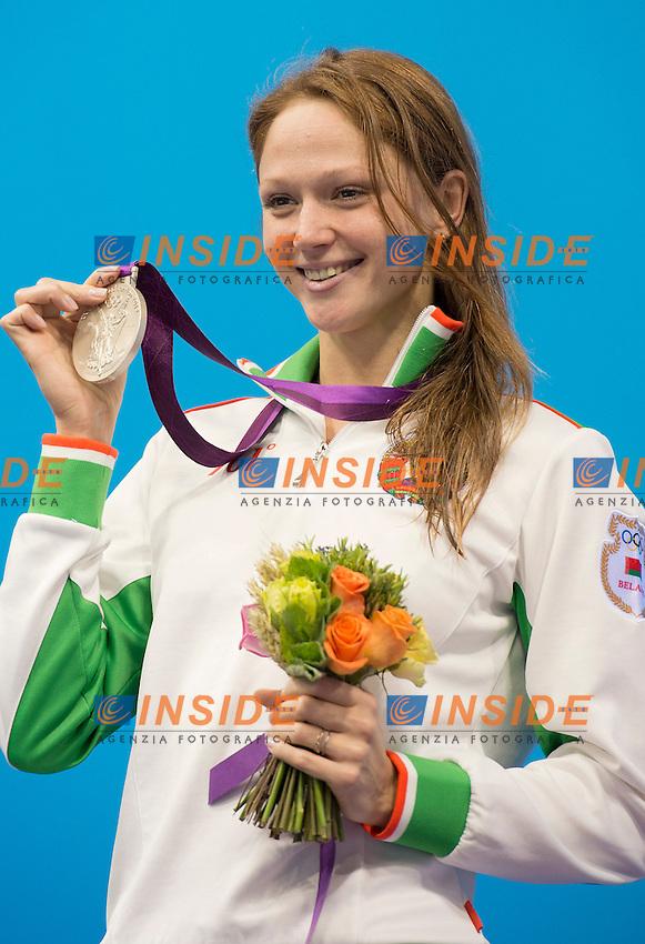 HERASIMENIA Aliaksandra Belarus (silver medal).women 100 freestyle.swimming finals.London 2012 Olympics - Olimpiadi Londra 2012.day 07 Aug.2.Photo G.Scala/Deepbluemedia.eu/Insidefoto
