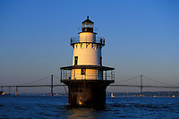 Hog Island Lighthouse, Bristol, Rhode Island.