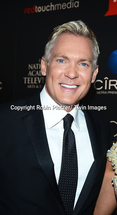 Sam Champion attends The 40th Annual Daytime Emmy Awards on<br />  June 16, 2013 at the Beverly Hilton Hotel in Beverly Hills, California.