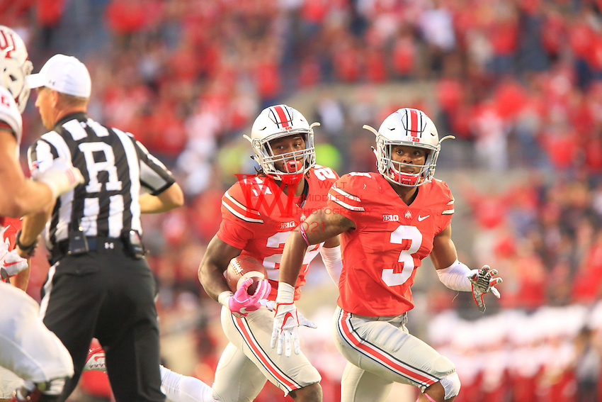 The Ohio State University football team defeats Indian 38-17. October 8, 2016<br /> (Photo by Walt Middleton Photography 2016)
