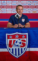 Boca Raton, FL - October 14, 2014: The USMNT tied Honduras 1-1 during an international friendly at FAU Stadium.