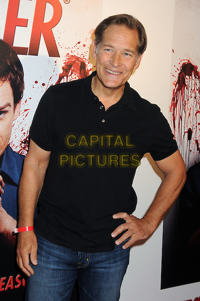 "James Remar.""Dexter"" Season 6 DVD/Blu-ray Release Party held at the Hollywood Roosevelt Tropicana Bar, Hollywood, California, USA..August 7th, 2012.half length top black hand on hip.CAP/ADM/BP.©Byron Purvis/AdMedia/Capital Pictures."