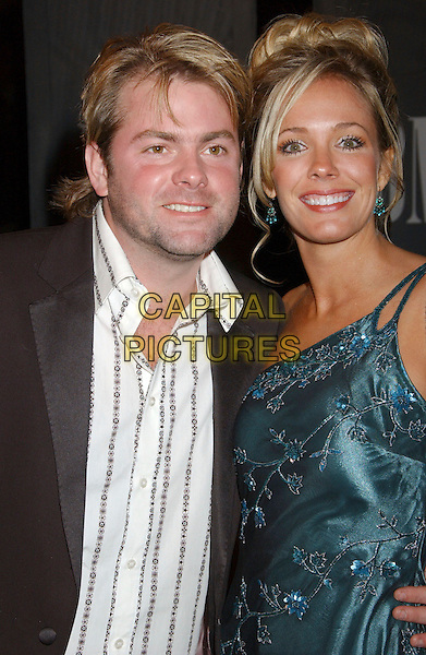 ANDY GRIGGS & WIFE.54th Annual BMI Country Awards held at BMI's Music Row Headquarters, Nashville, Tennessee, USA..November 4th, 2006.Ref: ADM/LF.headshot portrait married husband wife.www.capitalpictures.com.sales@capitalpictures.com.©Laura Farr/AdMedia/Capital Pictures.