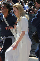 Nicole Kidman arrives at the Palais des Festivals during the 67th Cannes Film Festival - France