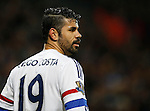 Diego Costa of Chelsea - English Premier League - Leicester City vs Chelsea - King Power Stadium - Leicester - England - 14th December 2015 - Picture Simon Bellis/Sportimage