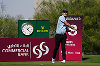 Jeff Winther (DEN) on the 18th during Round 1 of the Commercial Bank Qatar Masters 2020 at the Education City Golf Club, Doha, Qatar . 05/03/2020<br /> Picture: Golffile | Thos Caffrey<br /> <br /> <br /> All photo usage must carry mandatory copyright credit (© Golffile | Thos Caffrey)