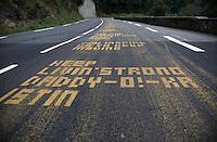 2010 Tour de France, Livestrong, Col du Tourmelet