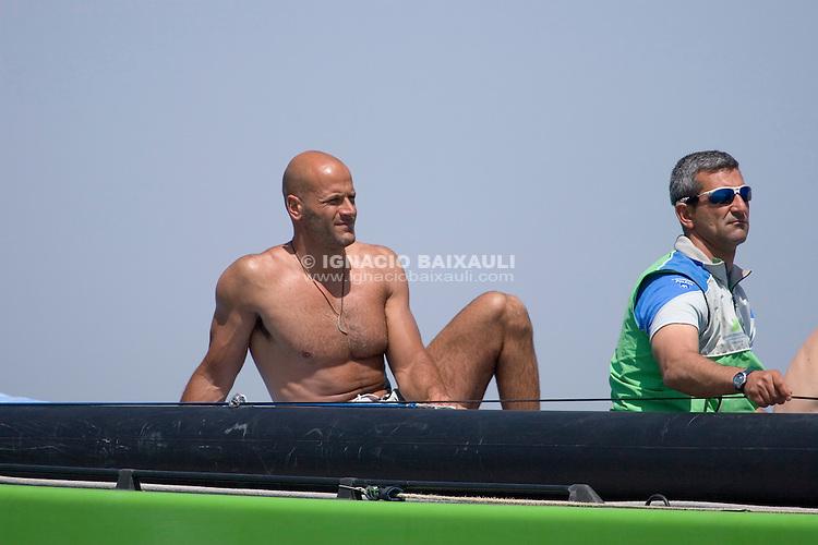 Desafío Español 2007 - Carlo Castellano -  - LOUIS VUITTON CUP - ROUND ROBIN 1 - DAY 1,2,3,4,6,8 - Races cancelled - 2007 abr 16