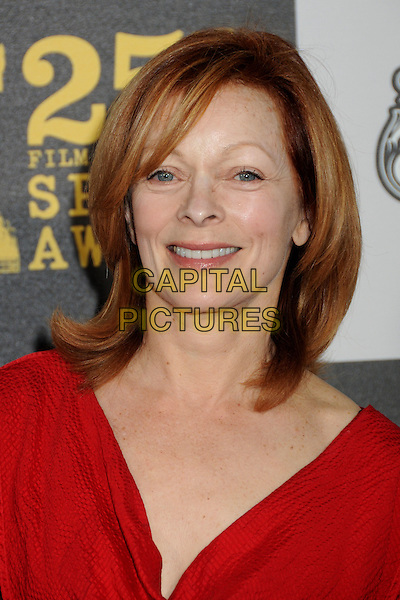 FRANCES FISHER .25th Annual Film Independent Spirit Awards - Arrivals held at the Nokia Event Deck at L.A. Live, Los Angeles, California, USA..March 5th, 2010.headshot portrait red  .CAP/ADM/BP.©Byron Purvis/AdMedia/Capital Pictures.