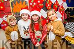 l-r  Elliott Calleja, Ella O'Sullivan, Sophie Quillian and Philippe Kozeva getting ready for the Scoil Eoin Balloonagh Christmas Concert on Monday