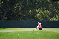 Azahara Munoz (ESP) hits her approach shot on 4 during round 3 of the 2019 US Women's Open, Charleston Country Club, Charleston, South Carolina,  USA. 6/1/2019.<br /> Picture: Golffile | Ken Murray<br /> <br /> All photo usage must carry mandatory copyright credit (© Golffile | Ken Murray)
